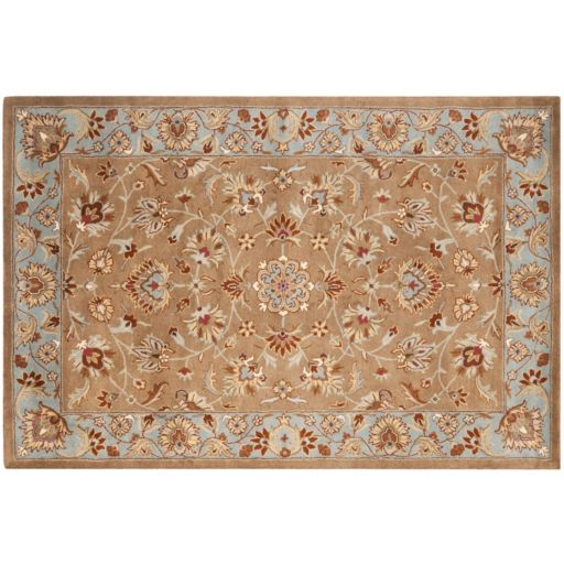 Safavieh Heritage Valletta Framed Floral Wool Rug
