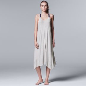 Women's Simply Vera Vera Wang Lakeside Lounging Long Chemise