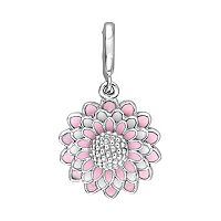 Laura Ashley Botanical Collection Sterling Silver Flower Charm