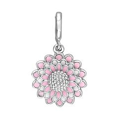Stella Grace Laura Ashley Botanical Collection Sterling Silver Flower Charm
