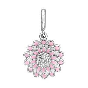 Laura Ashley Lifestyles Botanical Collection Sterling Silver Flower Charm