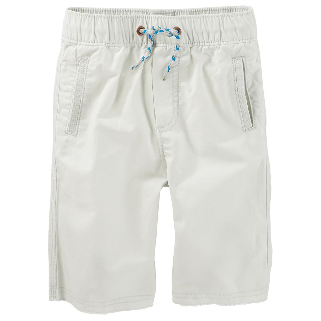 Toddler Boy OshKosh B'gosh® Canvas Pull-On Jogger Shorts