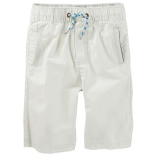 Toddler Boy OshKosh B'gosh® Canvas Pull-On Jogger Shorts