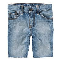 Toddler Boy OshKosh B'gosh® Sun-Faded Medium Wash Jean Shorts