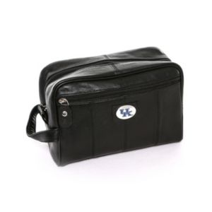 Kentucky Wildcats Black Leather Shave Kit