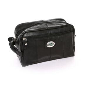 North Dakota State Bison Black Leather Shave Kit