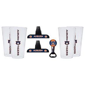Auburn Tigers 7-piece Pint Glass Set