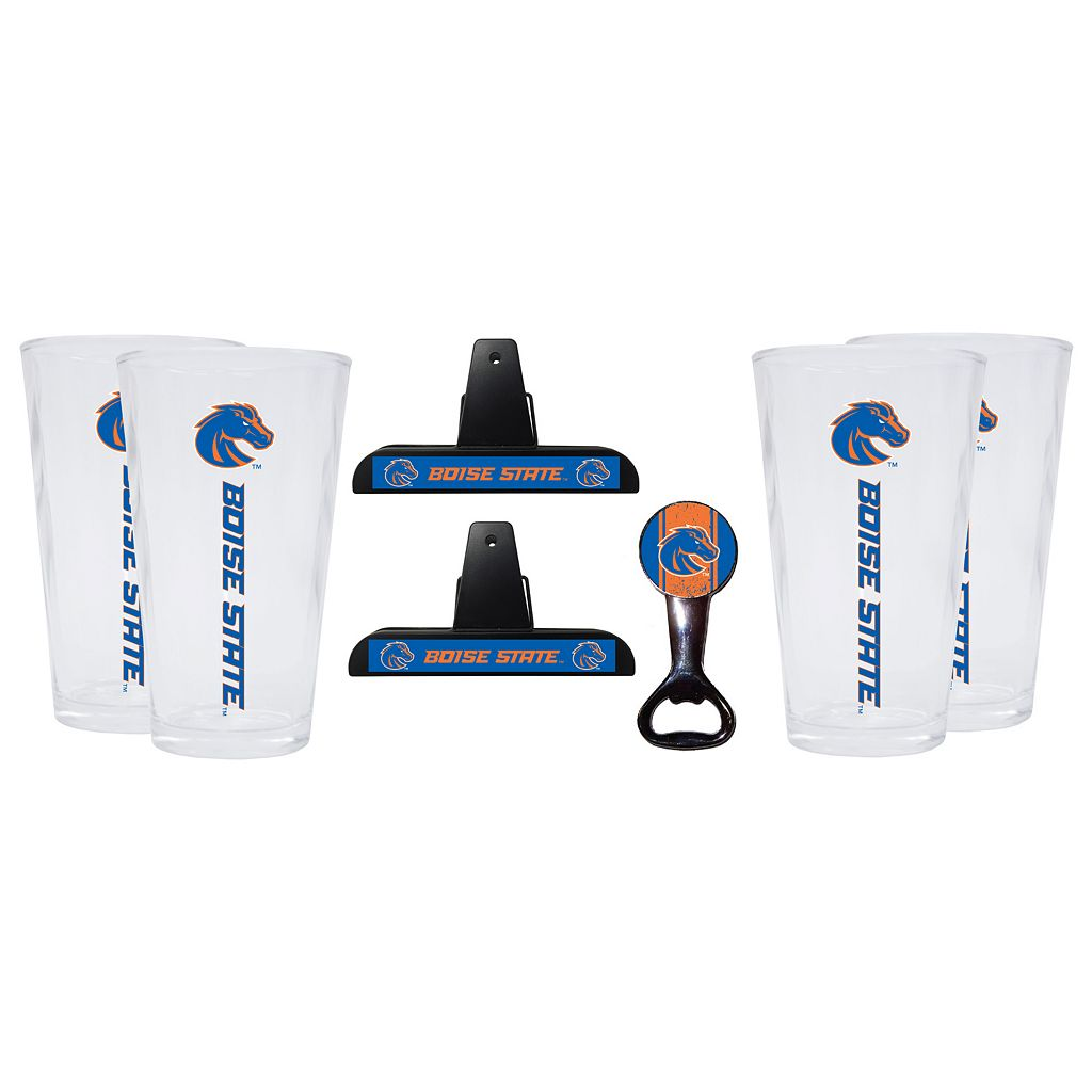 Boise State Broncos 7-piece Pint Glass Set