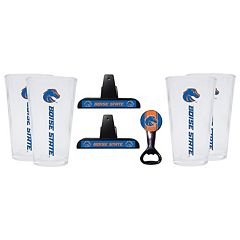 Boise State Broncos 7 pc Pint Glass Set