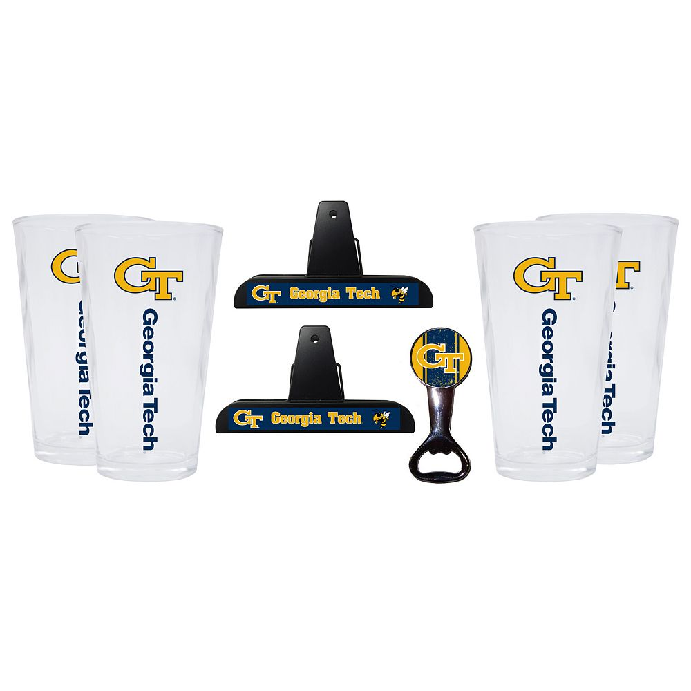 Georgia Tech Yellow Jackets 7-piece Pint Glass Set