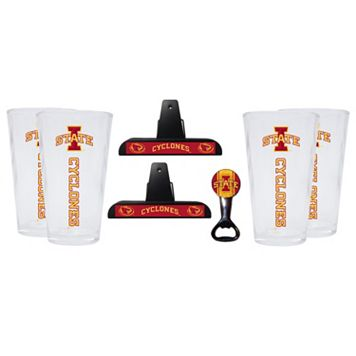 Iowa State Cyclones 7-piece Pint Glass Set