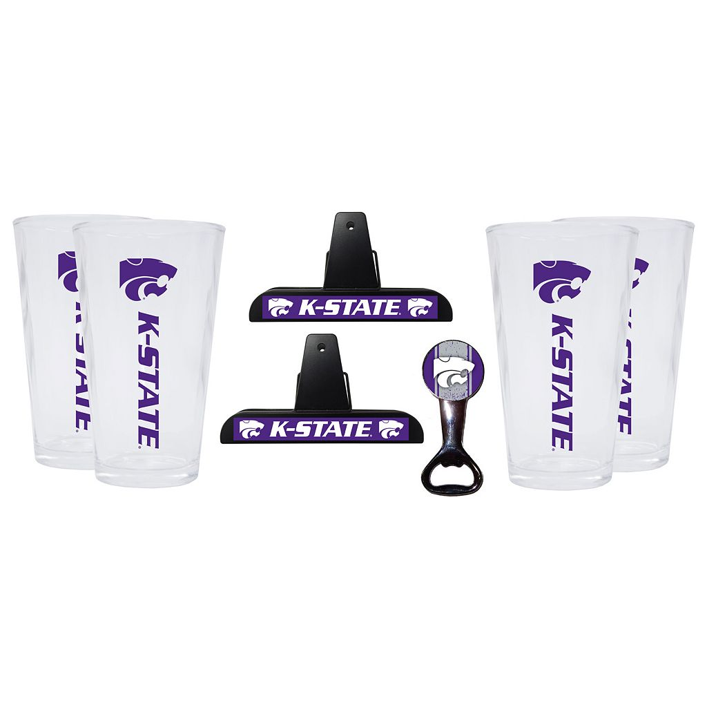 Kansas State Wildcats 7-piece Pint Glass Set
