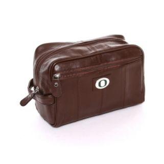 Oregon Ducks Brown Leather Shave Kit
