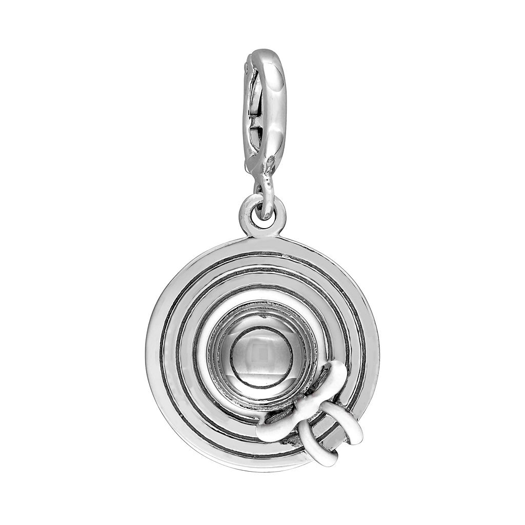 Laura Ashley Jubilee Collection Sterling Silver Sun Hat Charm