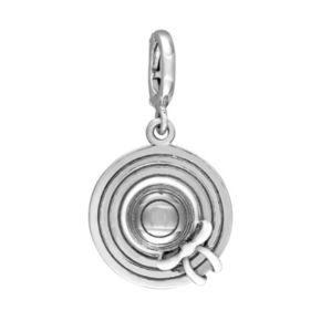 Stella Grace Laura Ashley Jubilee Collection Sterling Silver Sun Hat Charm