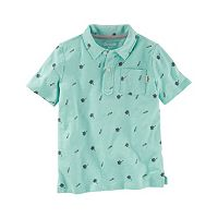 Toddler Boy OshKosh B'gosh® Palm Tree & Windsail Polo Shirt
