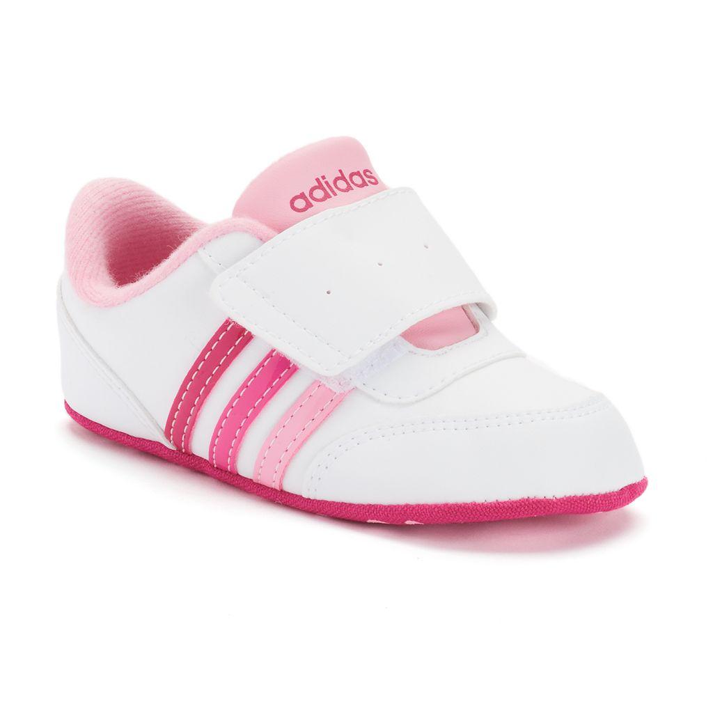 Baby Girls' adidas V Jog Crib Shoes