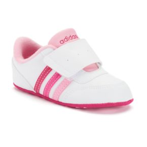 Baby Girls' adidas V Jog Crib Shoes
