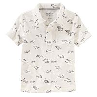 Toddler Boy OshKosh B'gosh® Shark Print Polo