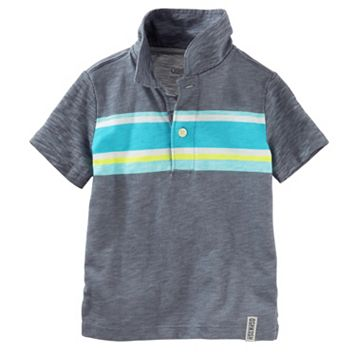 Toddler Boy OshKosh B'gosh® Stripe Slubbed Polo