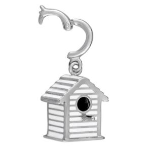 Stella Grace Laura Ashley Garden Collection Sterling Silver Bird House Charm