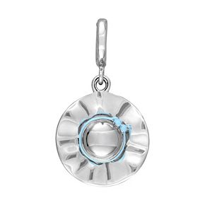 Laura Ashley Lifestyles Jubilee Collection Sterling Silver Blue Sun Hat Charm