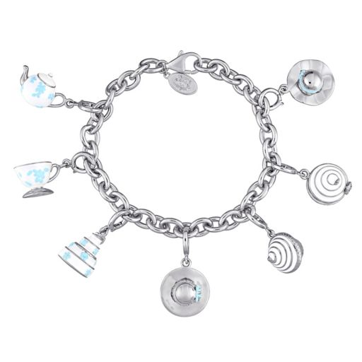 Stella Grace Laura Ashley Jubilee Collection Sterling Silver Tiered Cake Charm