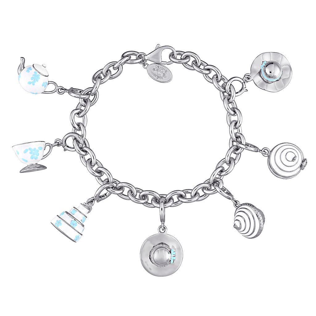 Laura Ashley Jubilee Collection Sterling Silver Cupcake Charm