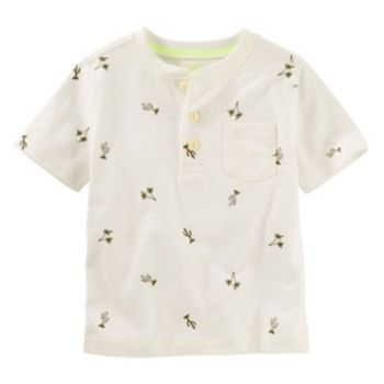 Toddler Boy OshKosh B'gosh® Henley Cactus Print Tee