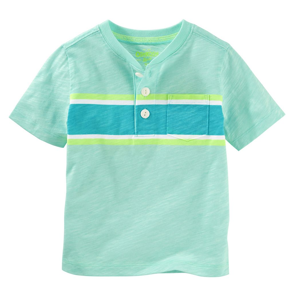 Toddler Boy OshKosh B'gosh® Colorblock Slubbed Henley