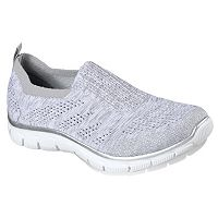 Skechers Relaxed Fit Empire Stretch Knit Gore Collar Women's Slip On Shoes