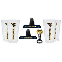 West Virginia Mountaineers 7-piece Pint Glass Set