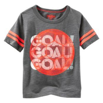 "Toddler Boy OshKosh B'gosh® Short Sleeve ""Goal! Goal! Goal!"" Graphic Tee"