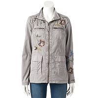 Women's SONOMA Goods for Life™ Floral Embroidered Jacket
