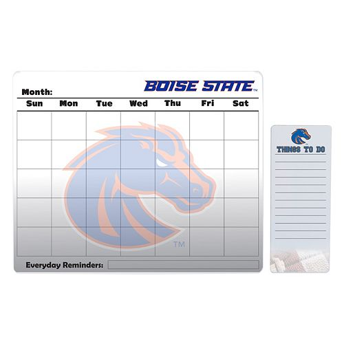 Boise State Broncos Dry Erase Calendar & To-Do List Pad Set
