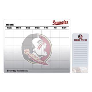 Florida State Seminoles Dry Erase Calendar & To-Do List Pad Set