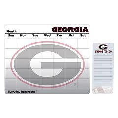 Georgia Bulldogs Dry Erase Calendar & To-Do List Pad Set