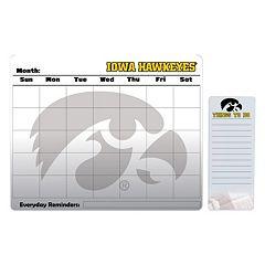 Iowa Hawkeyes Dry Erase Calendar & To-Do List Pad Set