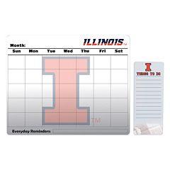 Illinois Fighting Illini Dry Erase Calendar & To-Do List Pad Set