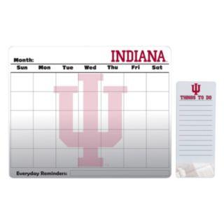 Indiana Hoosiers Dry Erase Calendar & To-Do List Pad Set