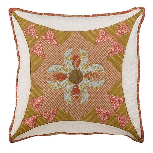 Always Home Durham Square Throw Pillow