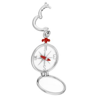 Laura Ashley Lifestyles Nautical Collection Sterling Silver Compass Charm