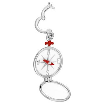 Laura Ashley Nautical Collection Sterling Silver Compass Charm
