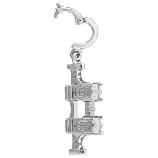 Stella Grace Laura Ashley Great Britain Collection Sterling Silver London Bridge Charm