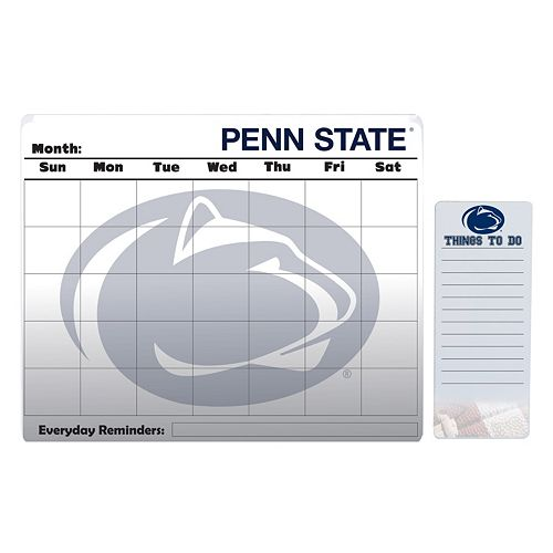 Penn State Nittany Lions Dry Erase Calendar & To-Do List Pad Set