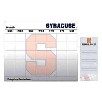 Syracuse Orange Dry Erase Calendar & To-Do List Pad Set