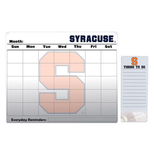 Syracuse Orange Dry Erase Calendar & To-Do List Pad Set