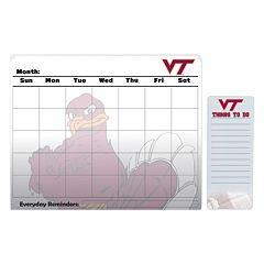 Virginia Tech Hokies Dry Erase Calendar & To-Do List Pad Set