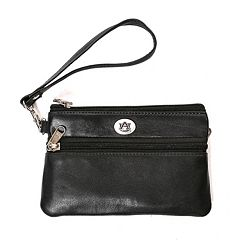 Auburn Tigers Leather Wristlet