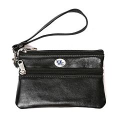 Kentucky Wildcats Leather Wristlet